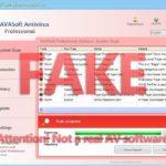AVASoft Professional Antivirusに注意!!マルウェアです!