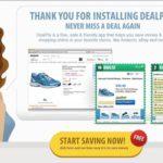 ブラウザ広告表示アドウェア 【DealPly】 検証と削除方法について