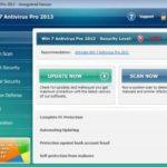 Win (OS) Antivirus Pro 2013 削除について